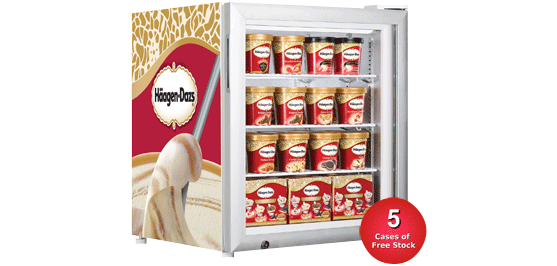 Haagen Dazs Ice Cream Freezers Direct Wholesale