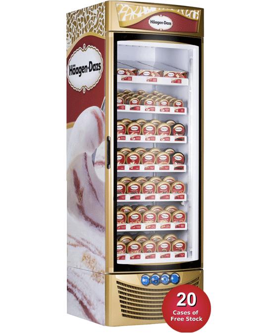 Haagen Dazs Ice Cream Freezers Direct Wholesale
